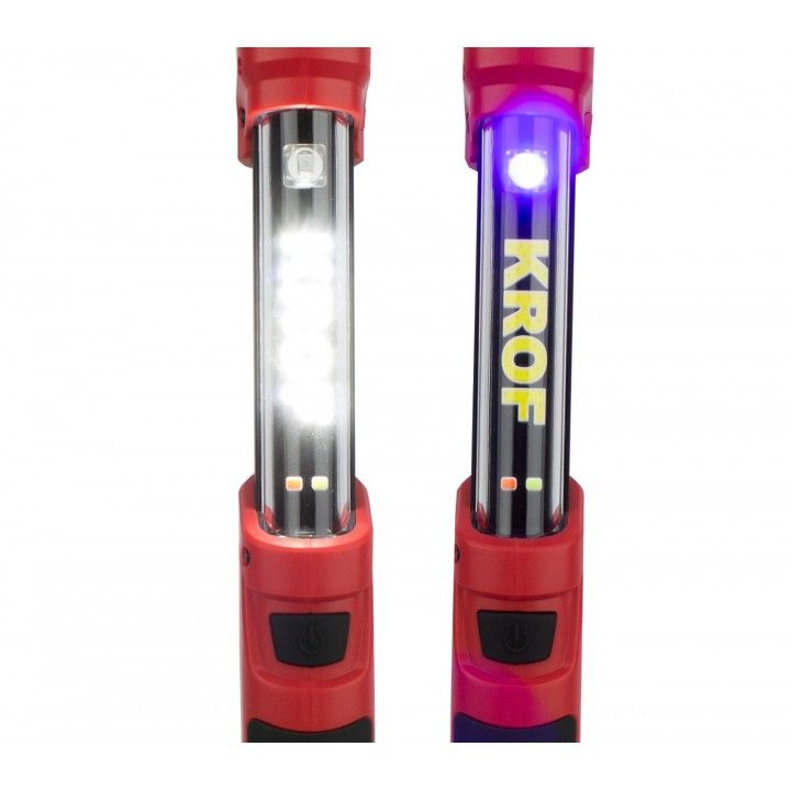 LAMPARA KROF 4W COB + 1W UV LED