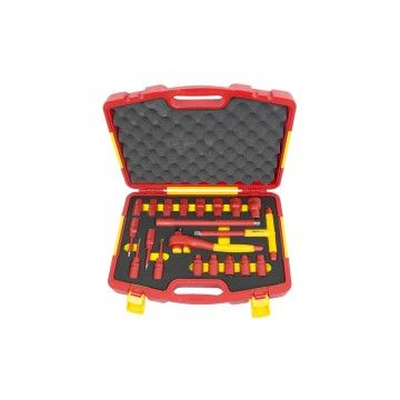 "20PCS 1/2"" VDE INSULATED TOOL SET"