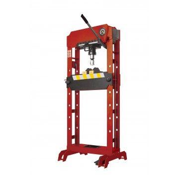 SHOP PRESS HYDRAULIC-PNEUMATIC 50TON W/PIN SET