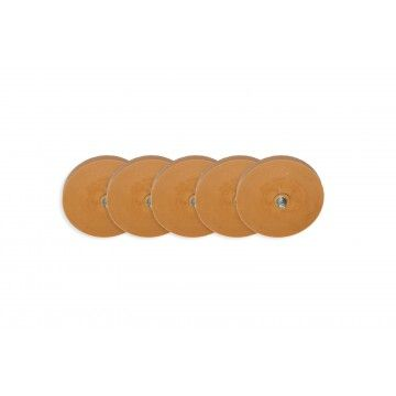 SET OF 5 RUBBBER ERASER WHEEL