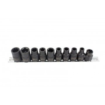 10PCS SPECIALIST AUTO SOCKET SET 1/2