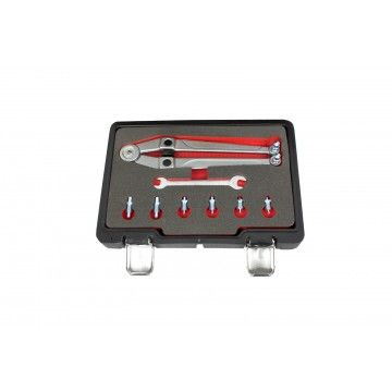 ADJUSTABLE PIN SPANNER SET GLAND NUT WRENCH