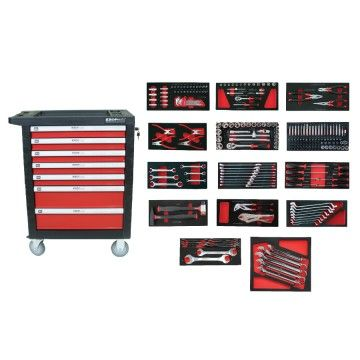 7 DRAWS TOOL CABINET 237pcs