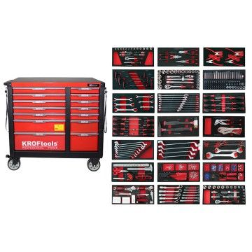 TOOL CABINET 14 DRAWERS 596 pcs
