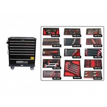 MULTIFUNCTION TOOL CABINET + 14 MODULES