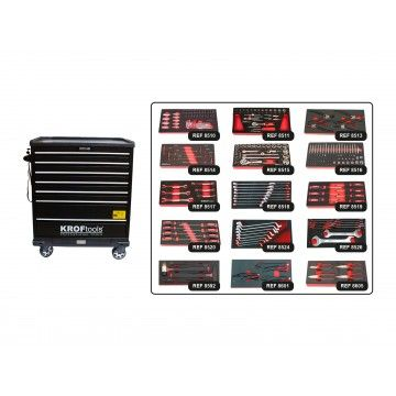 MULTIFUNCTION TOOL CABINET + 15 MODULES