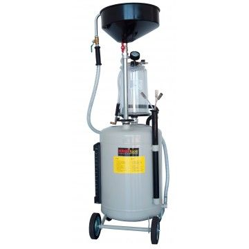 OIL VACUUM EXTRACTOR WITH MEASURING CUP 90L