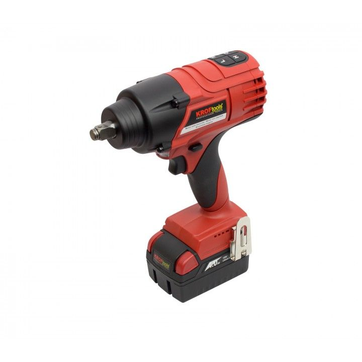 1/2´ IMPACT WRENCH 650NM 18V BATTERY