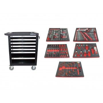 TOOL CABINET 7 DRAWER 160 PCS