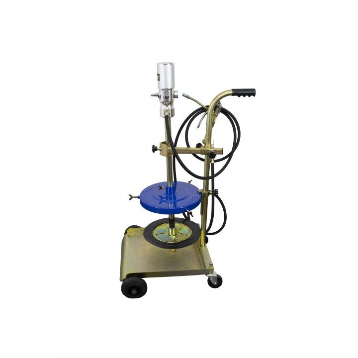 GREASE DISPENSER KIT WITH 60KG TROLLEY