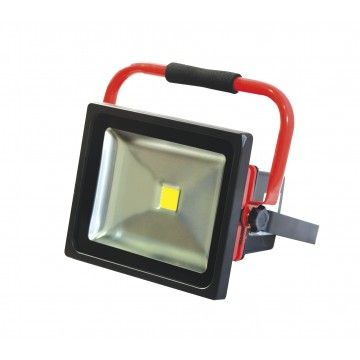 50W COB LED PROJECTOR WITH BATTERY