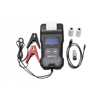 BATTERY TESTER WITH PRINTER
