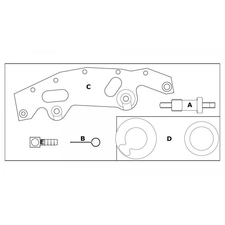 JOGO SINCRONIZAÇÃO BMW M52, M54, M56