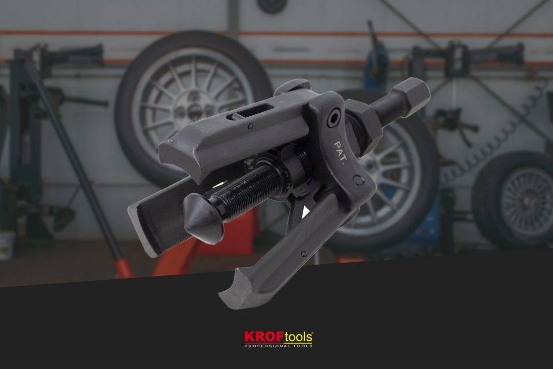 KROFtools outer bearing puller: how to use