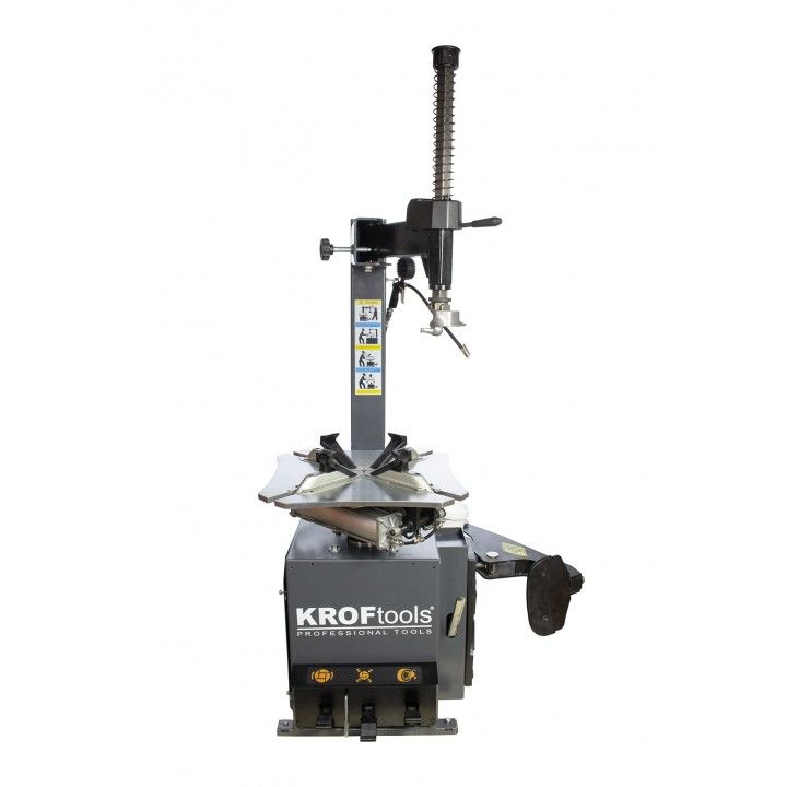 SEMI-AUTOMATIC TIRE CHANGER WITH FIXED ARM 220V